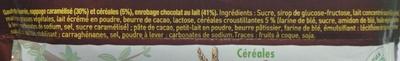 Lion - Ingredienser - fr