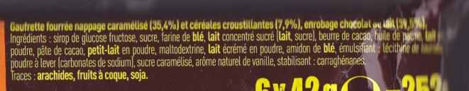 Lion - Ingrédients - fr