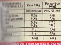 Lion - Informations nutritionnelles - fr