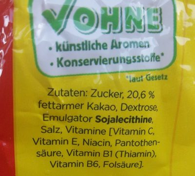 Nestle Nesquik - Ingrediënten - de