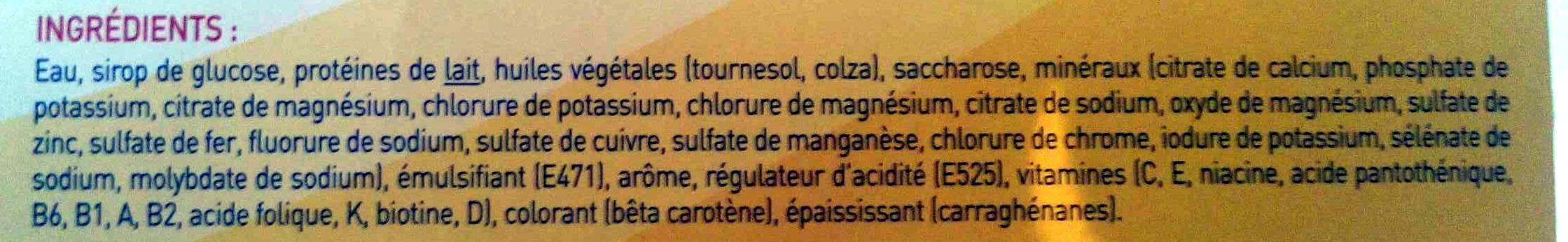 Booster saveur vanille - Ingredients - fr