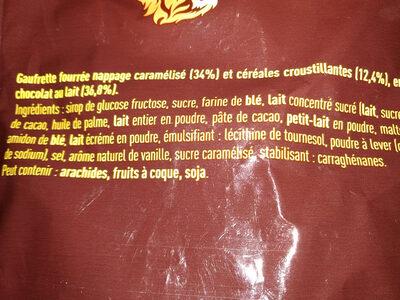 LION MINI Barres chocolatées - sachet - Ingredients - fr