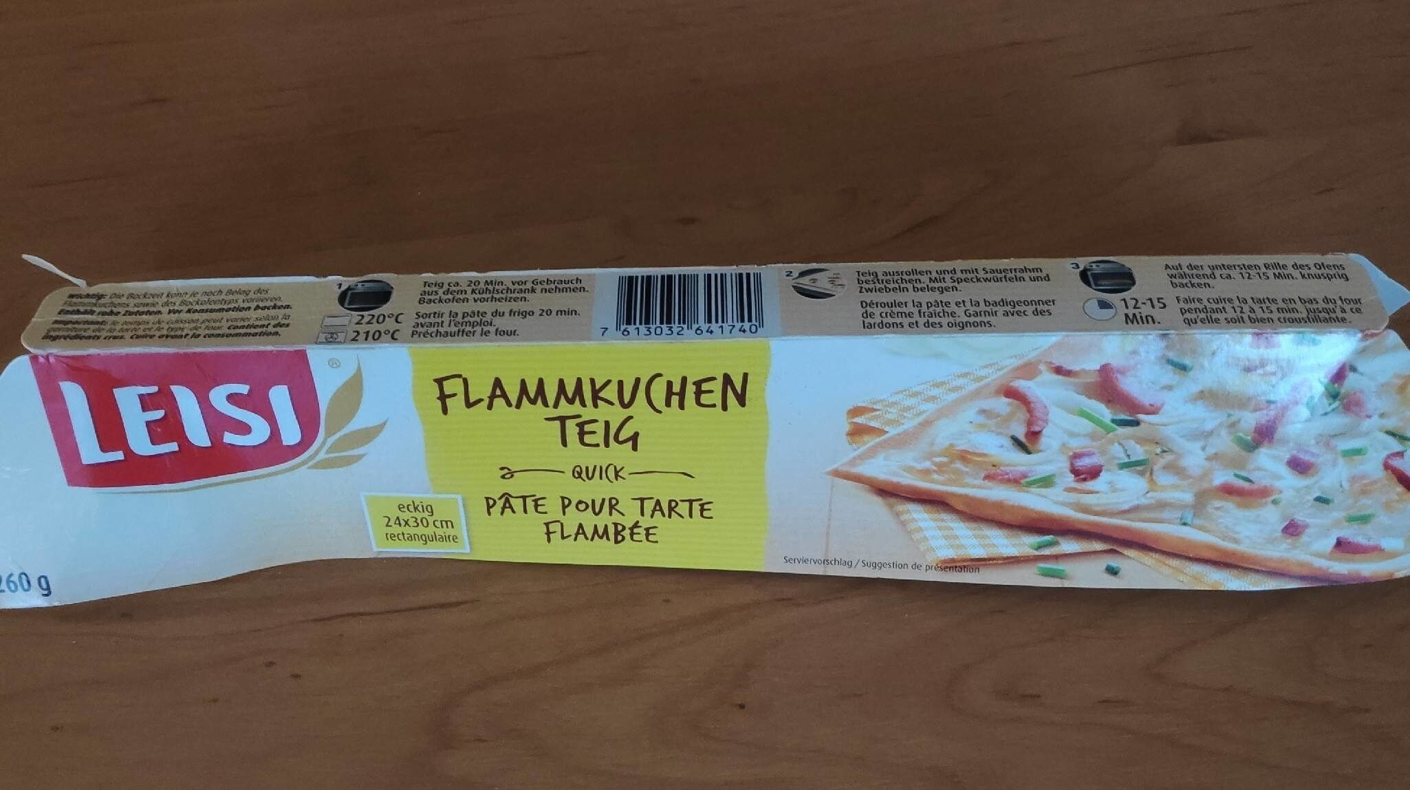 Teig Flammkuchen - Product - fr