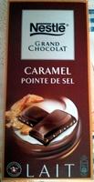 Grand Chocolat Lait Caramel Pointe de Sel - Product - fr