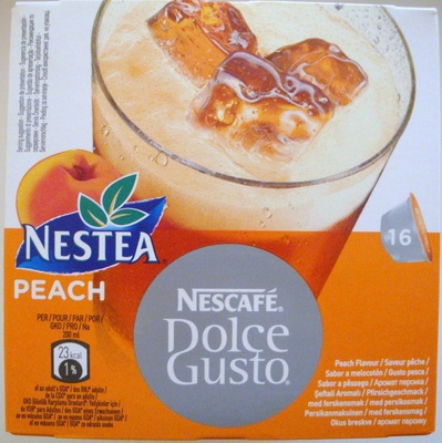 Dolce Gusto Nestea peach - Produit - fr