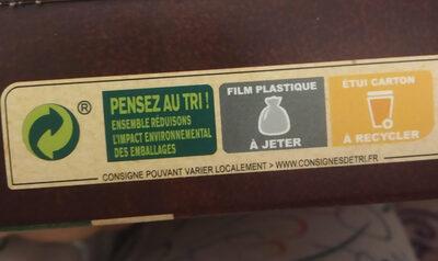 CHOCAPIC céréales petit déjeuner - Instruction de recyclage et/ou informations d'emballage - fr