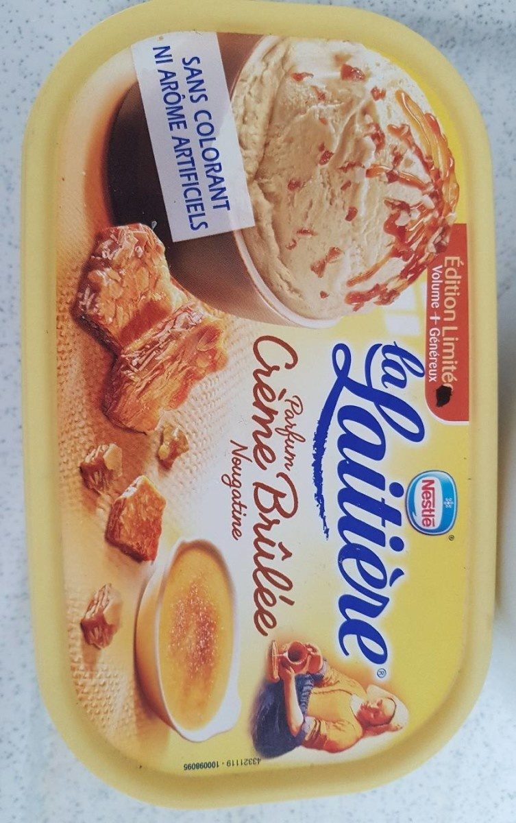 Glace crème brûlée la laitière - Product