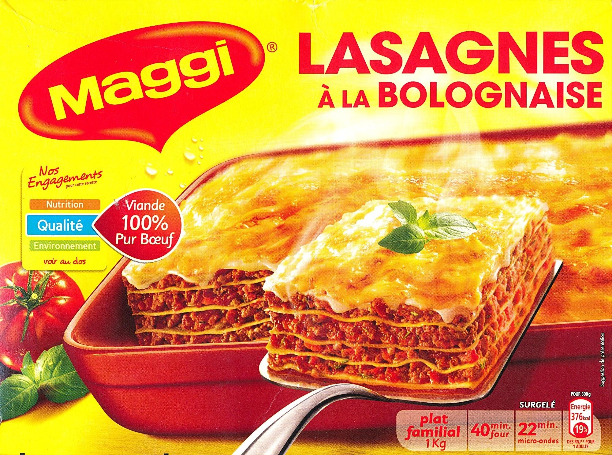 lasagnes la bolognaise 1 kg maggi. Black Bedroom Furniture Sets. Home Design Ideas