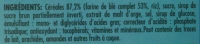 Nestlé Fitness - Ingrediënten - fr