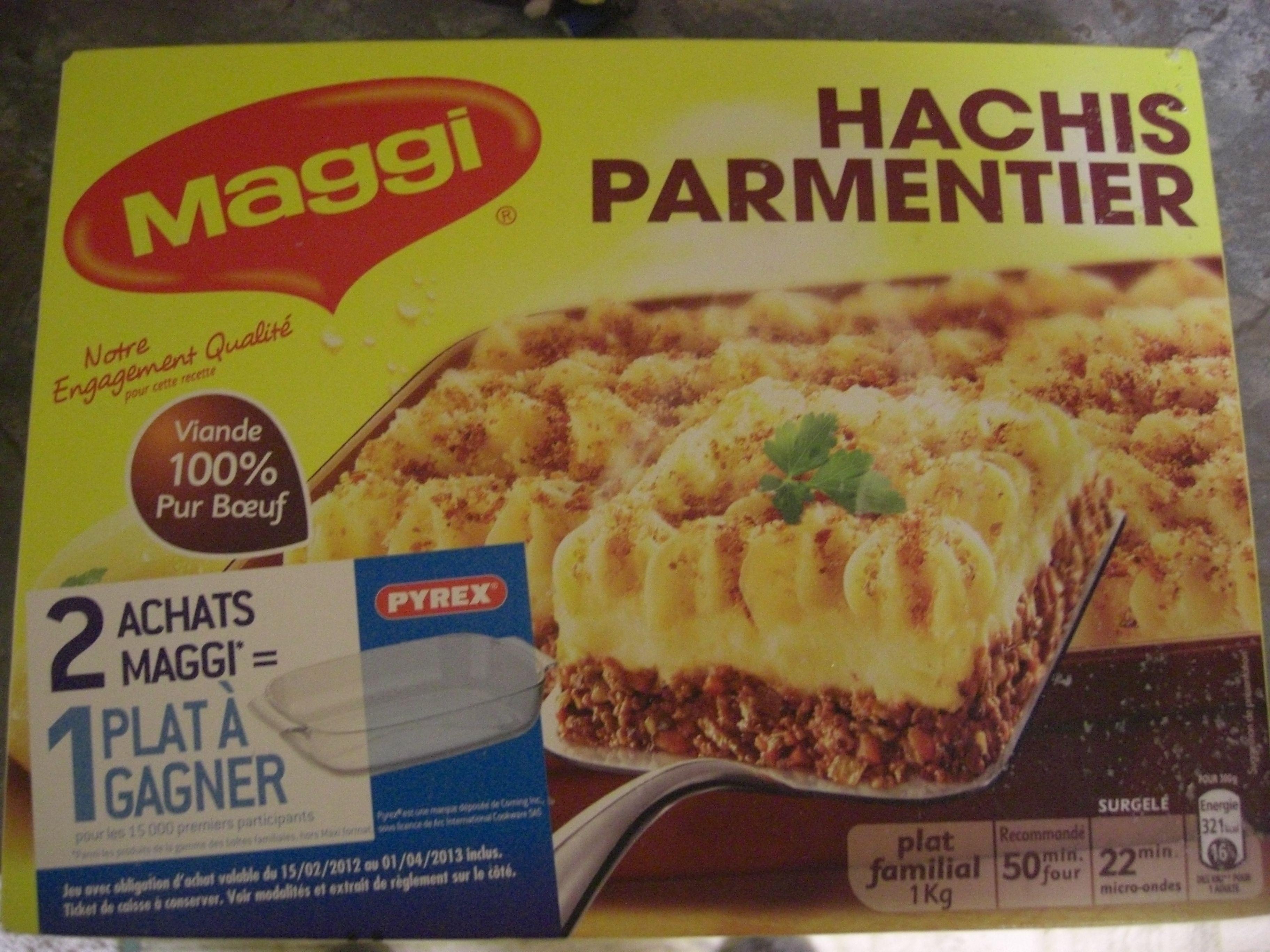 Hachis Parmentier - 1 kg - Maggi - Produit - fr