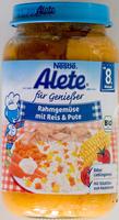 Rahmgemüse mit Reis und Pute - Product