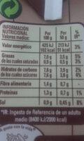 Tomate frito estilo Casero - Información nutricional - es