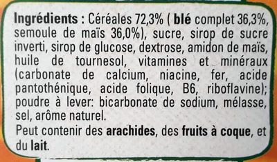 Golden Grahams - Ingredients - fr