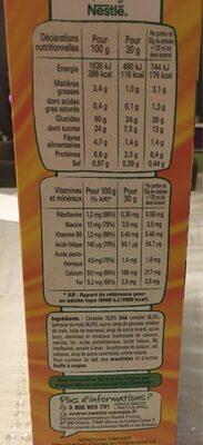 Golden Grahams - Nutrition facts - fr