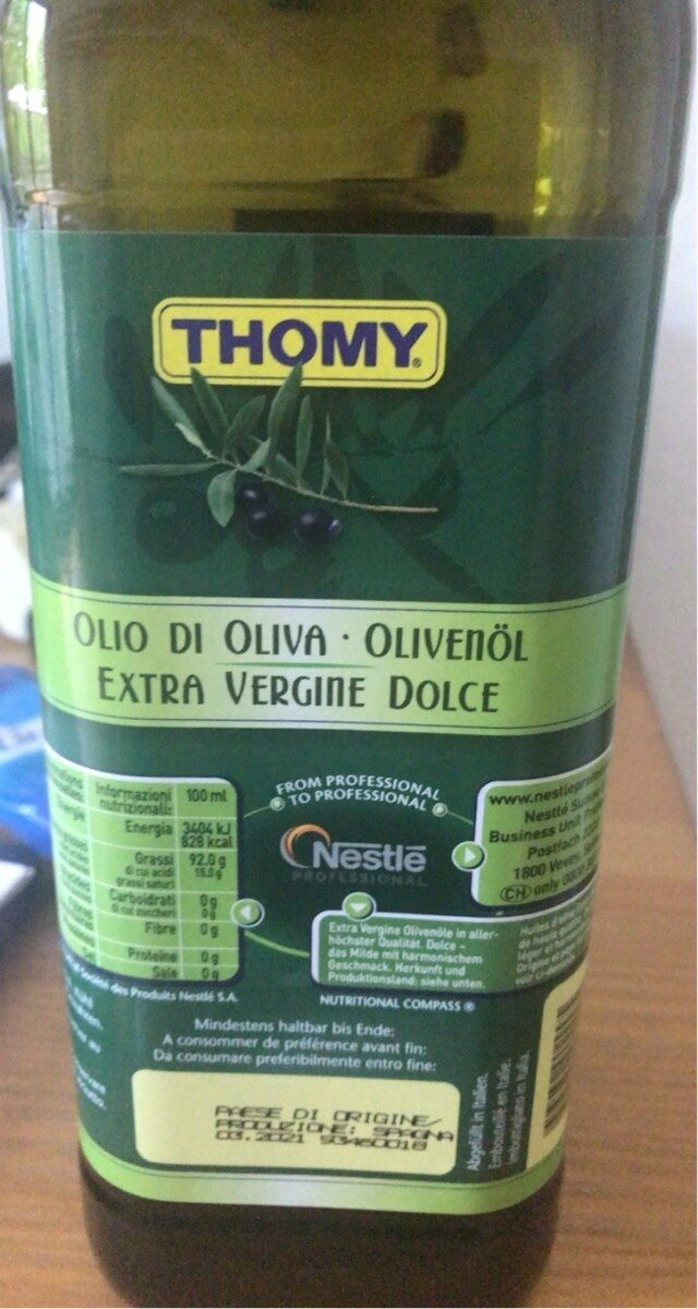 Huile d'olive - Prodotto - fr