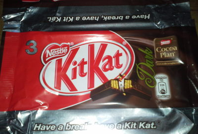 KitKat Dark - Produit - it