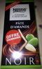 Grand Chocolat Pâte d'amande Noir - Produit