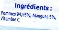 Pommes mangues - Ingredienti - fr