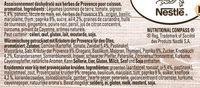 Papillotes Poulet et aux herbes de Provence - Ingrédients