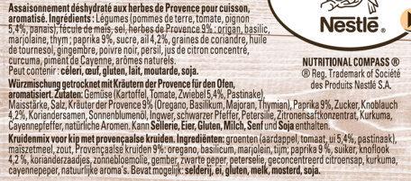 Papillotes Poulet et aux herbes de Provence - Ingrediënten - fr