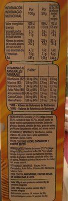 Golden grahams cereales de desayuno con miel - Nutrition facts