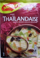 Soupe Thaïlandaise (poulet, saveurs coco et citronnelle) - Product