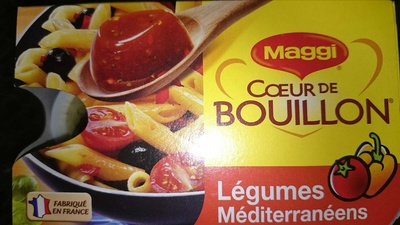 coeur de bouillon légumes méditerranéens - Produit - fr