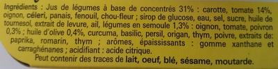coeur de bouillon légumes méditerranéens - Ingrédients - fr