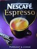 Dosettes individuelles Nescafé expresso - Produit