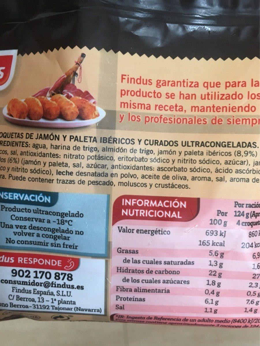 Croquettes de jambon ibérique - Ingrediënten - fr