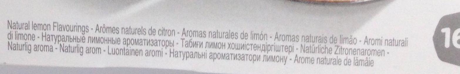 Nestea lemon - Ingrediënten