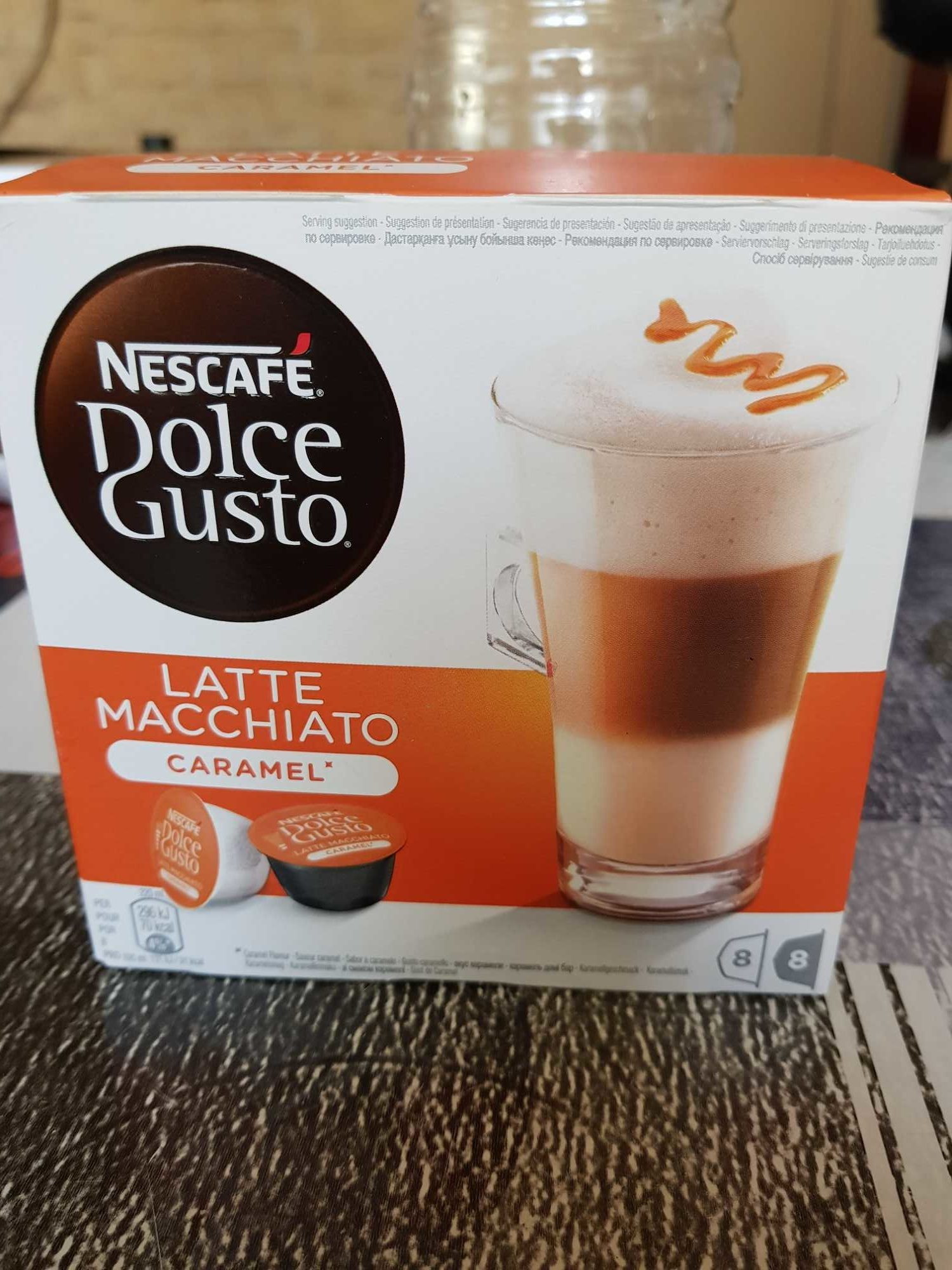 D.gus Latt Macc Caramel Nescafe - Product - fr