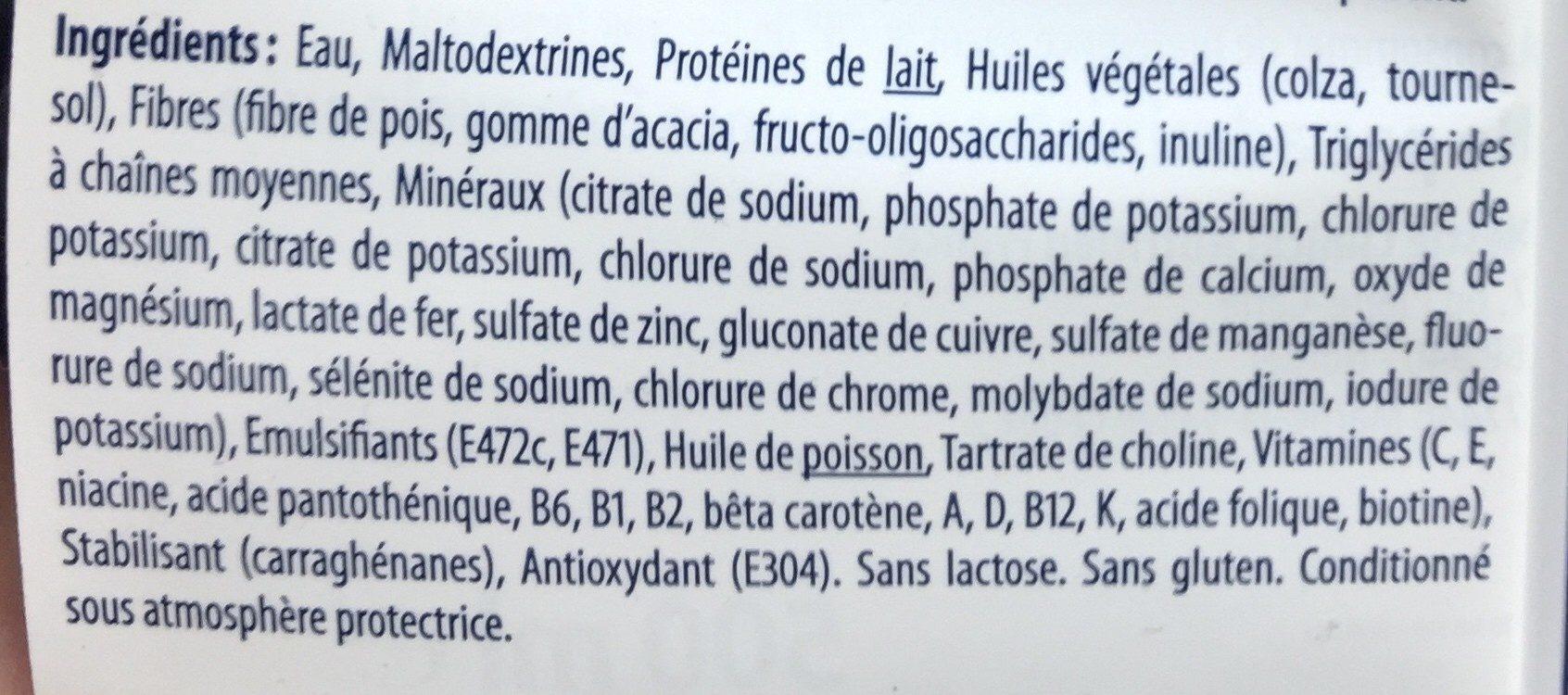 Sondalis standard fibres - Ingrédients - fr