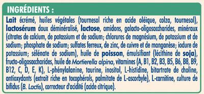 NESTLE NIDAL NidalGest 1 Lait pour nourrissons 1er âge 800g dès la Naissance - Ingredients - fr