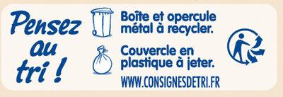 NESTLE NIDAL NidalGest 1 Lait pour nourrissons 1er âge 800g dès la Naissance - Recycling instructions and/or packaging information - fr