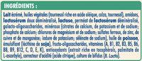 NESTLE NIDAL NidalGest 2 Lait de suite 2ème âge 800g dès 6 mois - Ingredients - fr