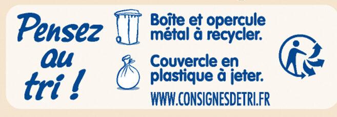 NESTLE NIDAL NidalGest 2 Lait de suite 2ème âge 800g dès 6 mois - Recycling instructions and/or packaging information - fr
