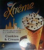 Extrême Recette très onctueuse A l'Américaine Cookies & Cream - Produit