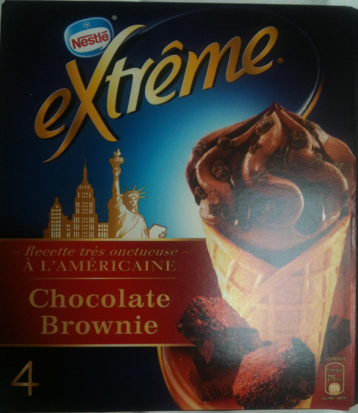 Nestlé - eXtrême - Chocolate Brownie - Produit