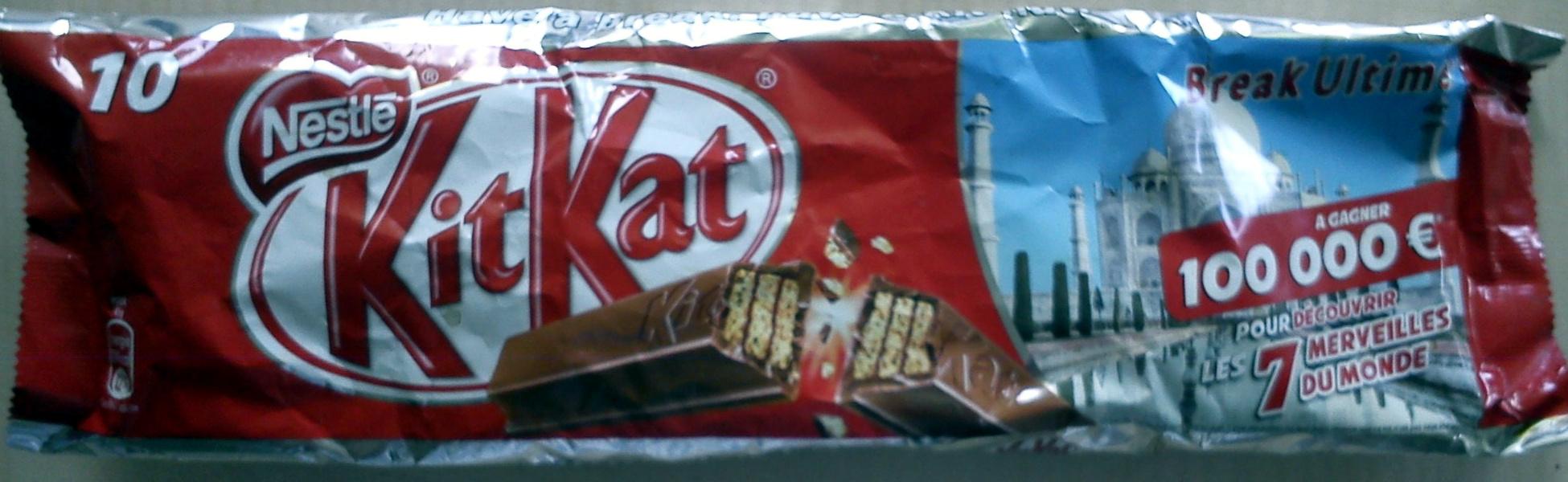 10 Kit Kat - Product