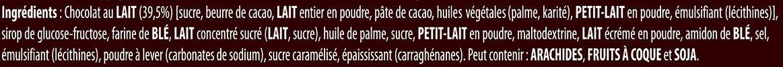 LION barre chocolatée Format Familial 11 x 42g - Ingredienti - fr