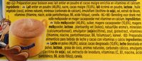 Dolce Gusto Nesquik - 16 Capsules - Ingredients