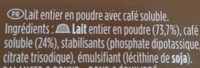 Dolce Gusto - Ingredients - fr