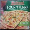 Pizza Four à Pierre - Poulet, Mozzarella et Sauce Façon Pesto - Produit