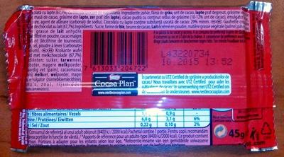 Kit Kat - Ingredients - ro