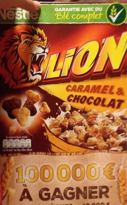 Lion caramel & chocolat - Producto