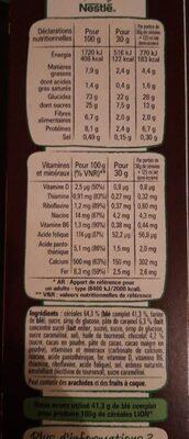 Lion caramel & chocolat - Ingredients