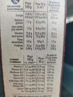 Lion caramel & chocolat - Informations nutritionnelles - fr