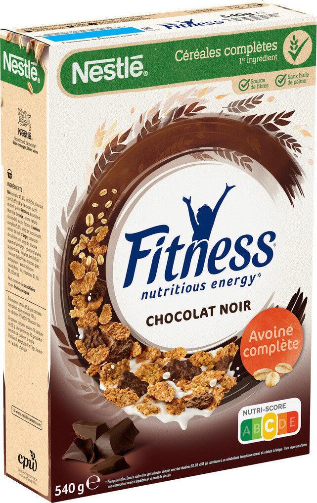 FITNESS Céréales chocolat noir - Produit - fr