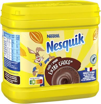 NESQUIK Gout EXTRA CHOCO Poudre Cacaotée boîte - Prodotto - fr